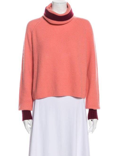 SportMax Cashmere Turtleneck Sweater Pink