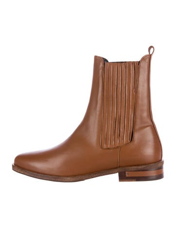 Freda Salvador Leather Semi-Pointed Booties Manchester cheap price best place to buy online outlet many kinds of eastbay online 0pZ263vqP