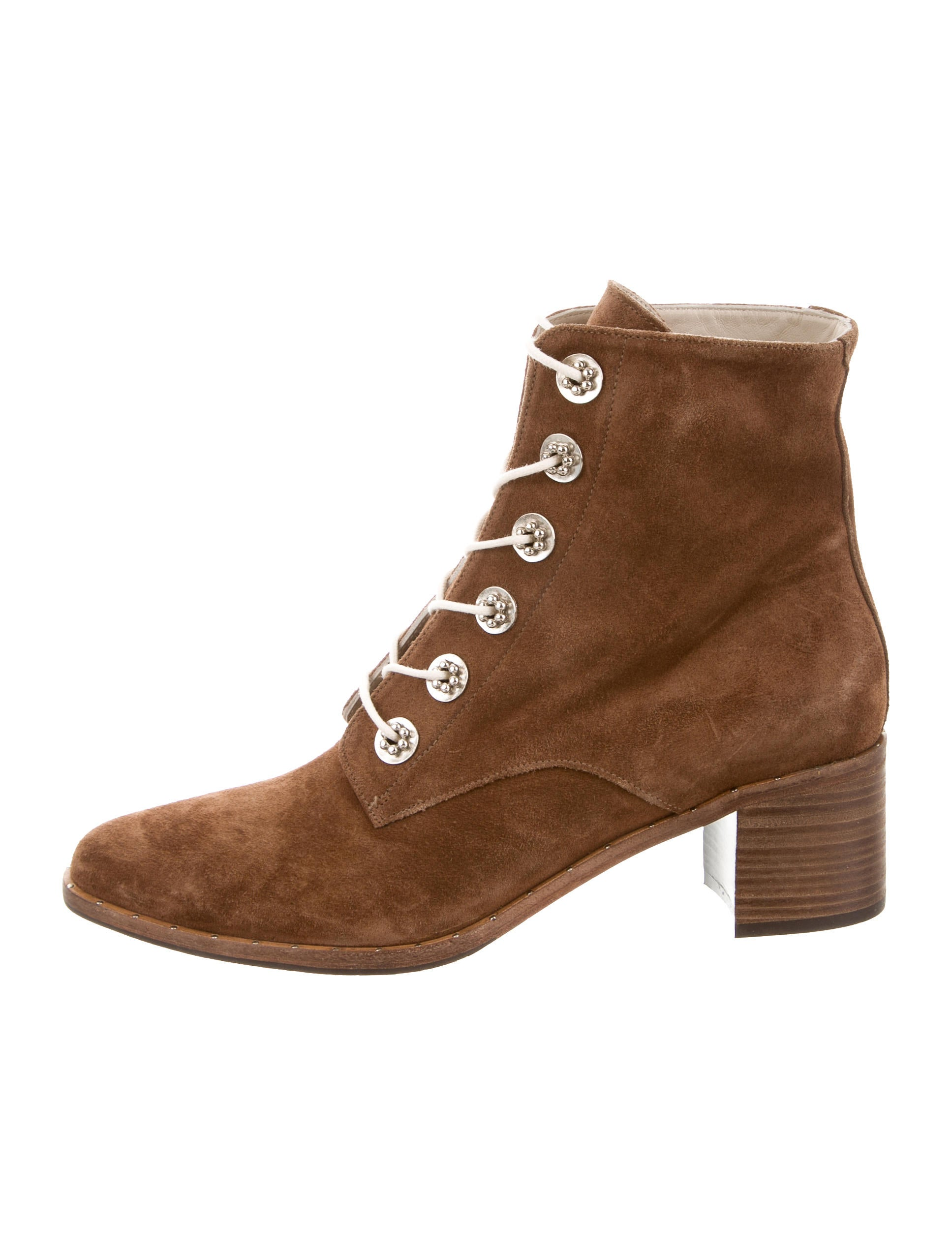 Freda Salvador Suede Lace-Up Ankle Boots release dates for sale cheap store clearance shop RbqYUB
