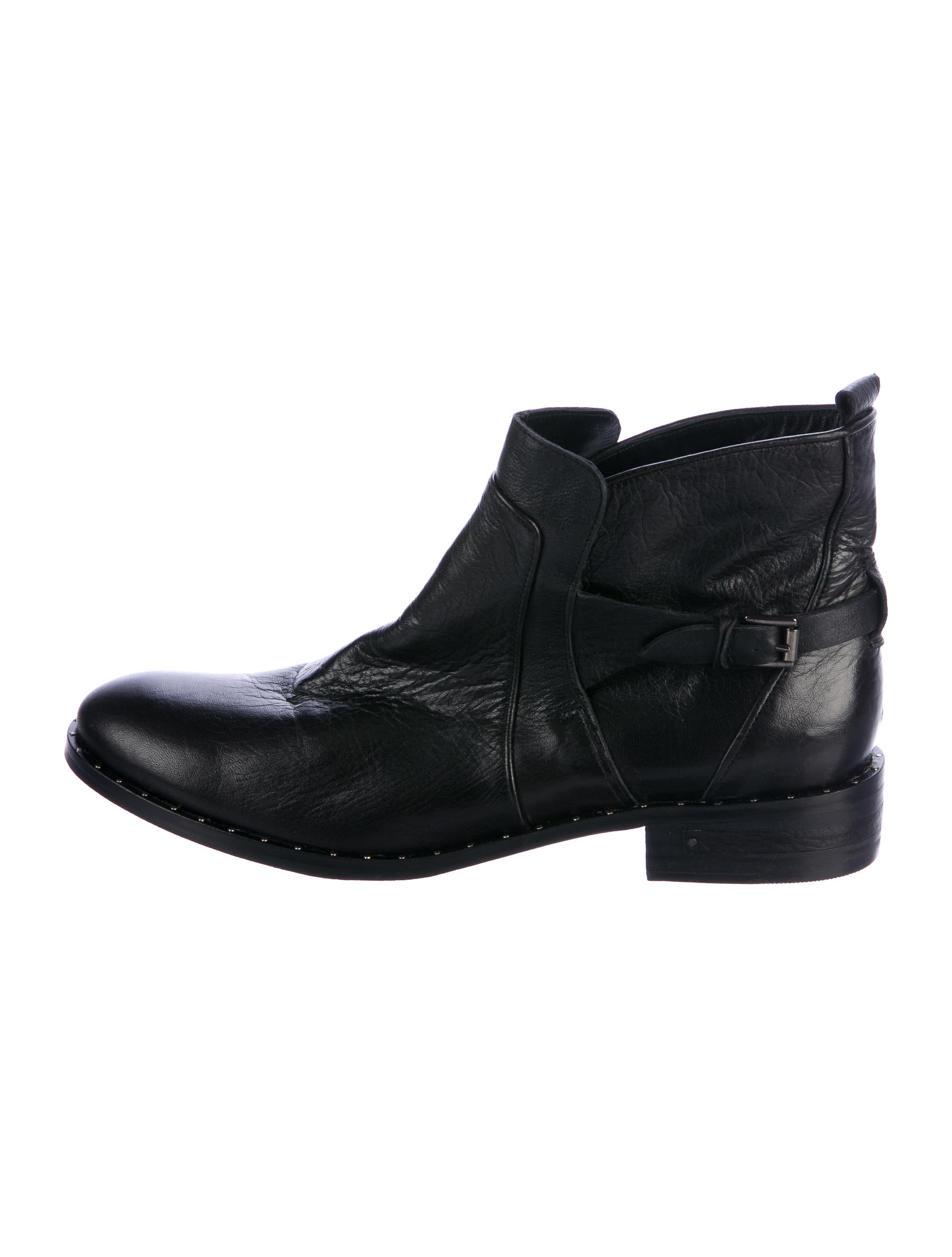 Freda Salvador Leather Ankle Boots discount purchase 5NPIfZUqX