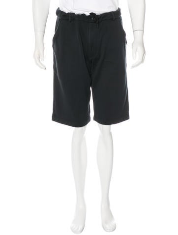 Y-3 Woven Jogger Shorts None