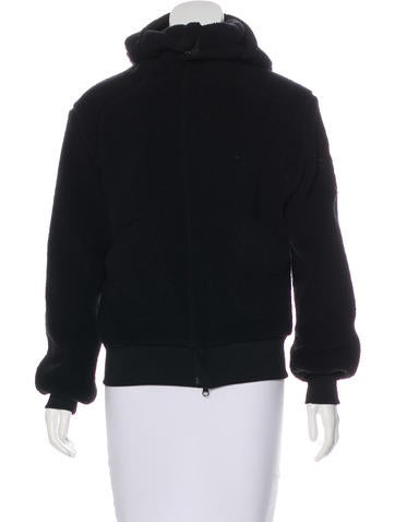 Y-3 Fleece Hooded Jacket None