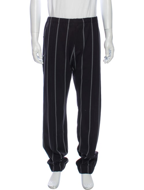 Y-3 Striped Pants Black