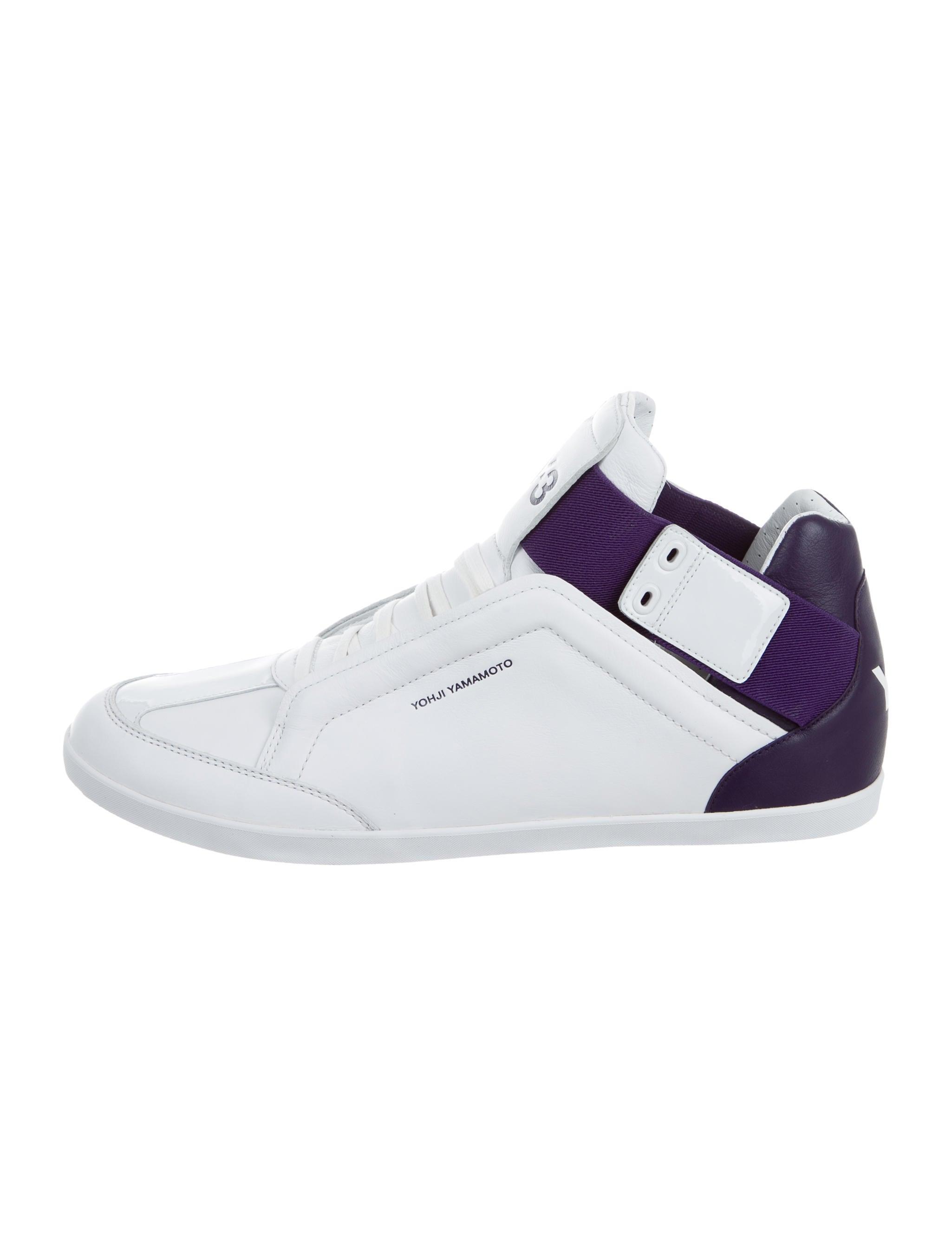 dc1c23b64a36e Y-3 x Adidas Kazuhiri Leather Sneakers - Shoes - WY3AD20551