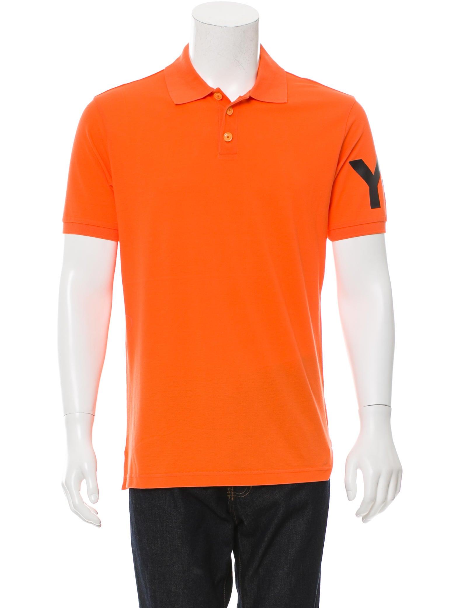 Y 3 x adidas logo printed polo shirt clothing for Logo printed polo shirts