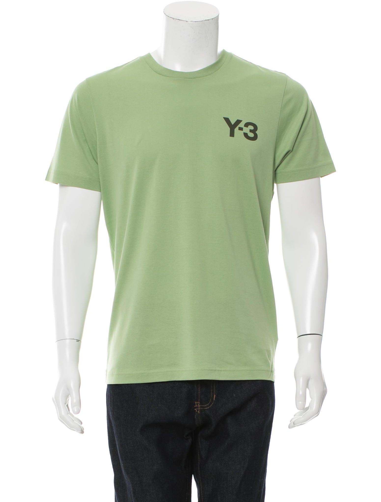 Y 3 X Adidas Logo Print T Shirt Clothing Wy3ad20715