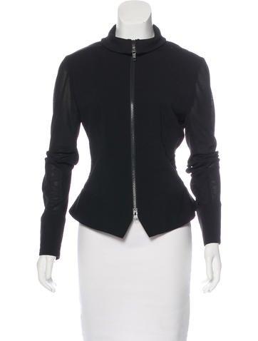 Y-3 x Adidas Long Sleeve Zip-Up Jacket None