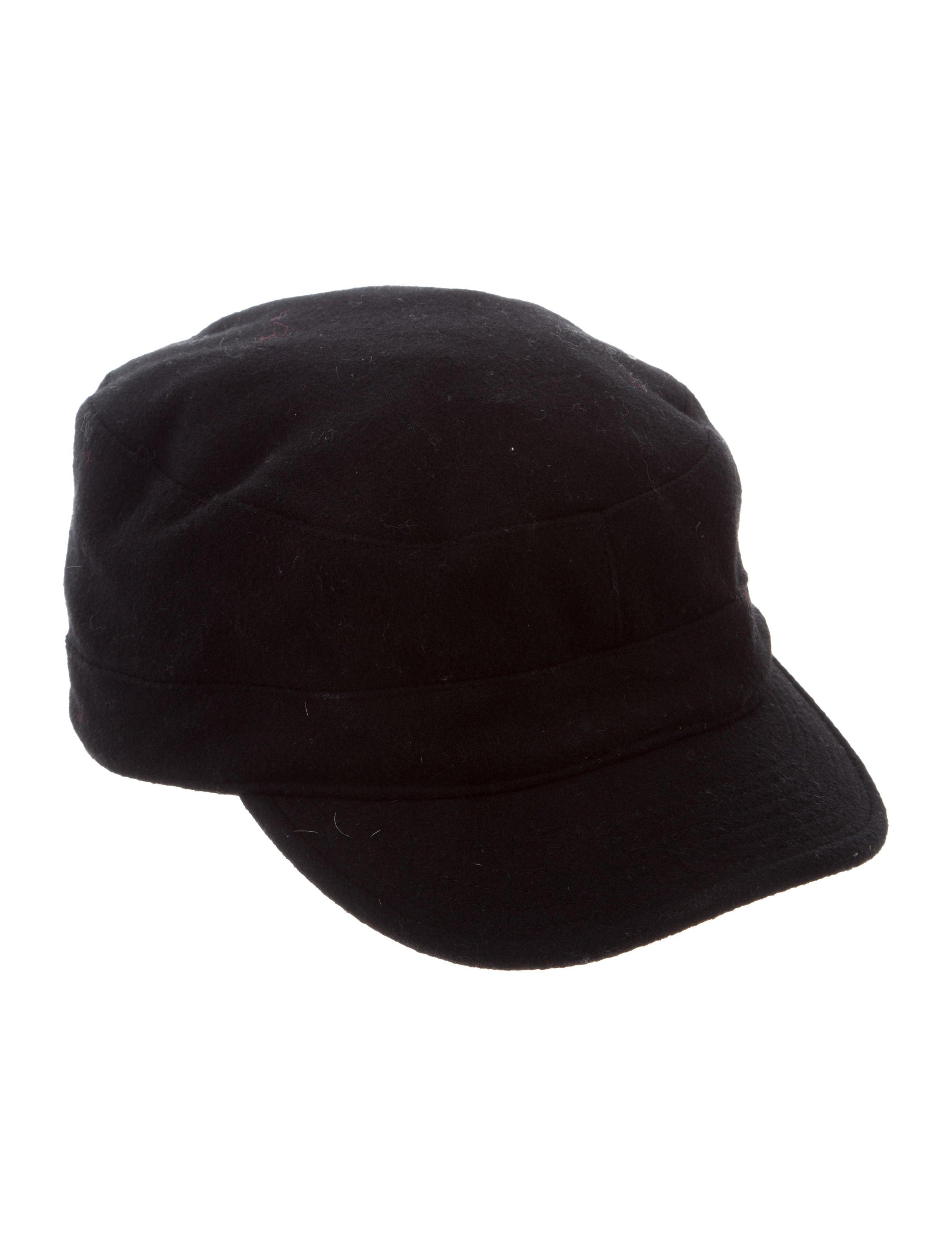 Y-3 x Adidas Wool Newsboy Hat - Accessories - WY3AD21015  0c25fb84342