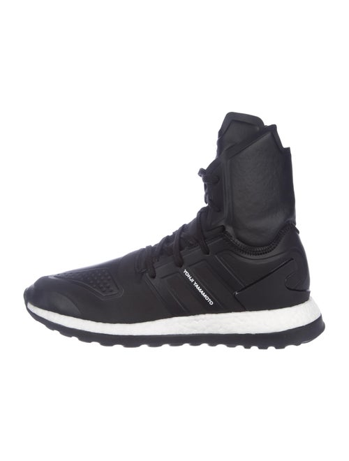 42206d210 Y-3 x Adidas Pure Boost ZG High-Top Sneakers w  Tags - Shoes ...