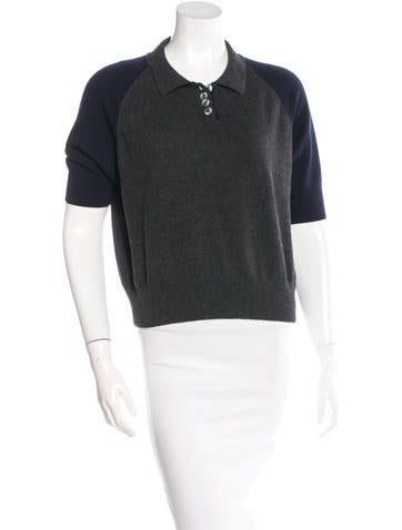 YMC Raglan Polo Top None
