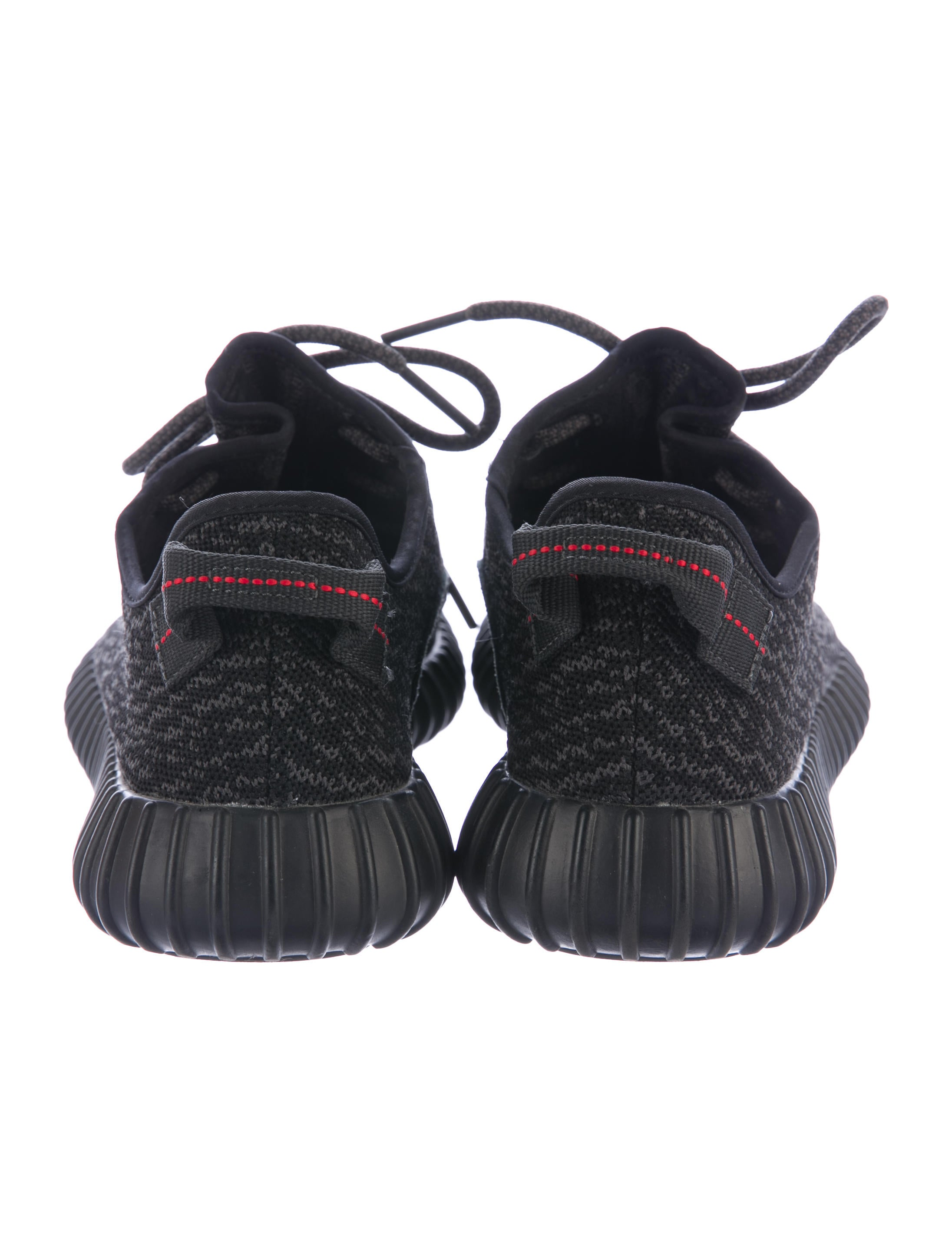 Yeezy X Adidas 2015 Pirate Black 350 Boost Sneakers