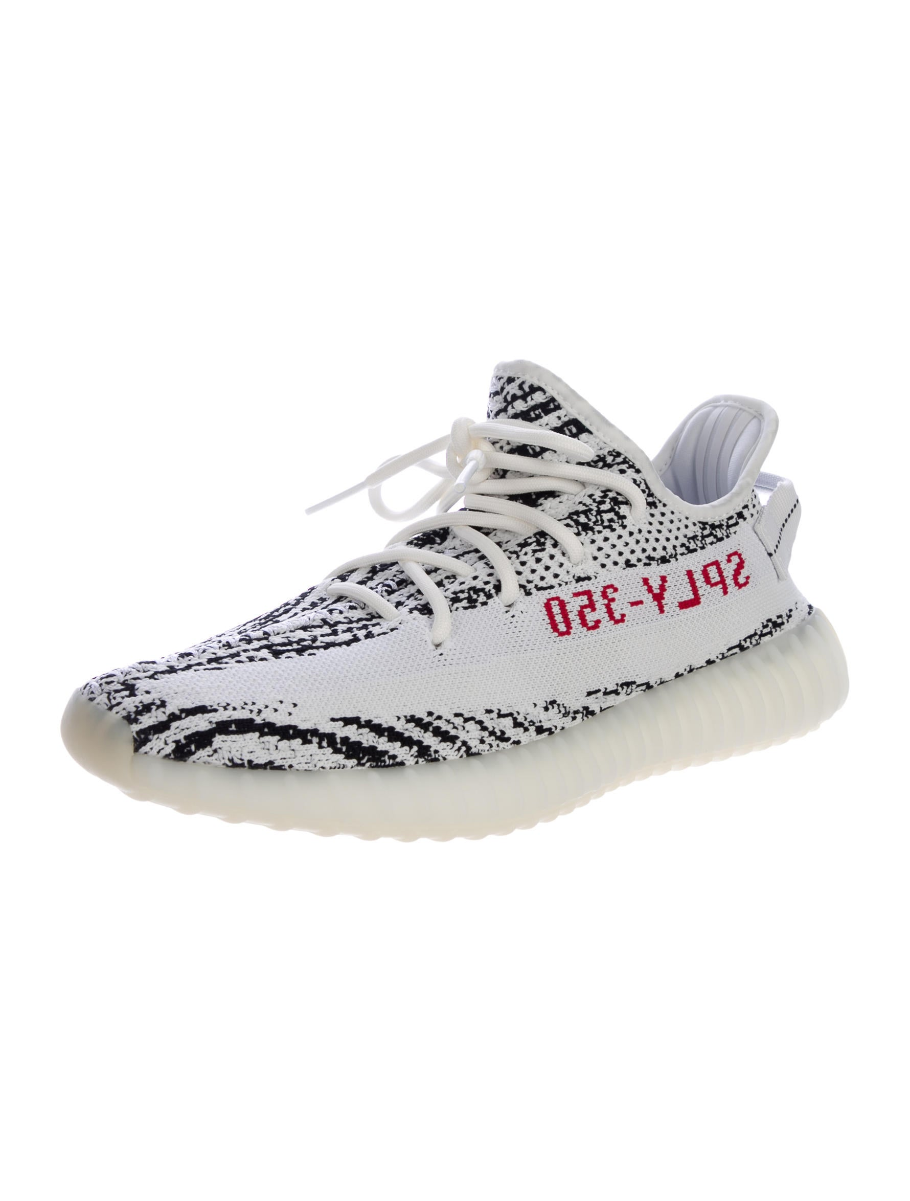 yeezy x adidas 2017 boost 350 v2 zebra sneakers w tags. Black Bedroom Furniture Sets. Home Design Ideas