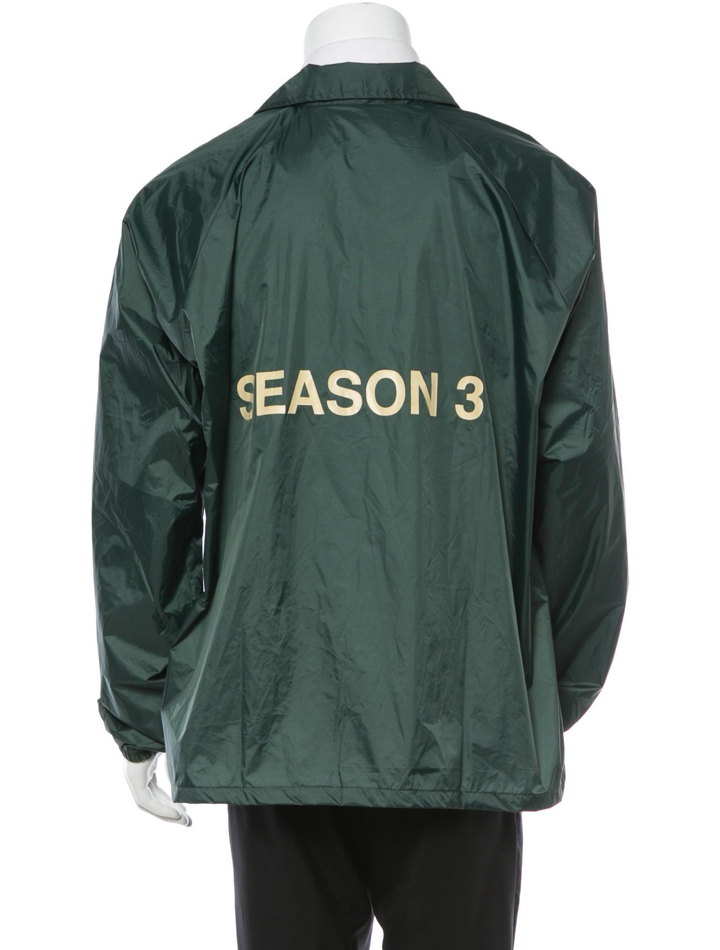 yeezy season 3 invitation coaches jacket w tags. Black Bedroom Furniture Sets. Home Design Ideas