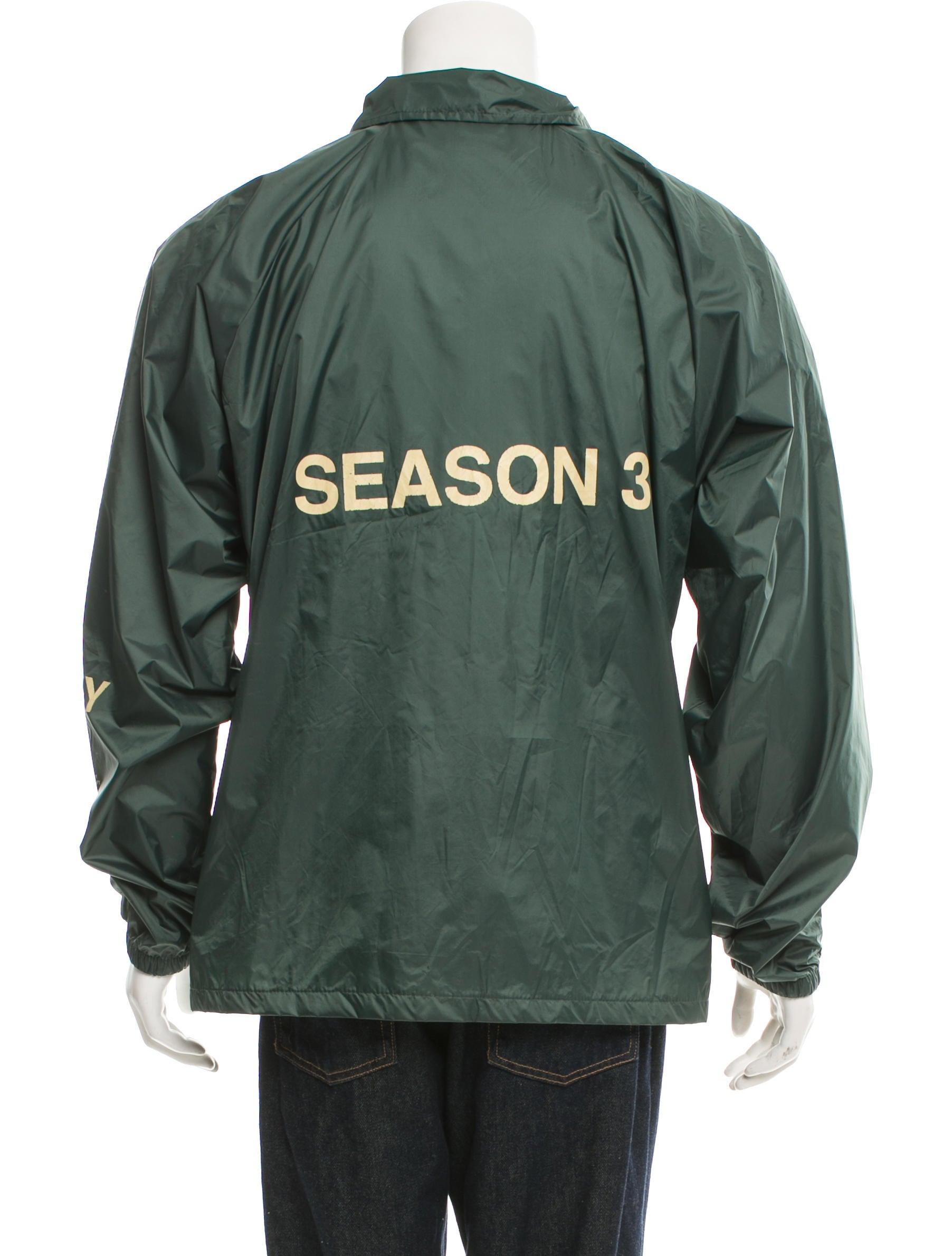 yeezy season 3 invitation coaches jacket clothing. Black Bedroom Furniture Sets. Home Design Ideas