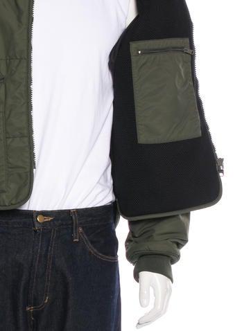 Puffer Bomber Jacket