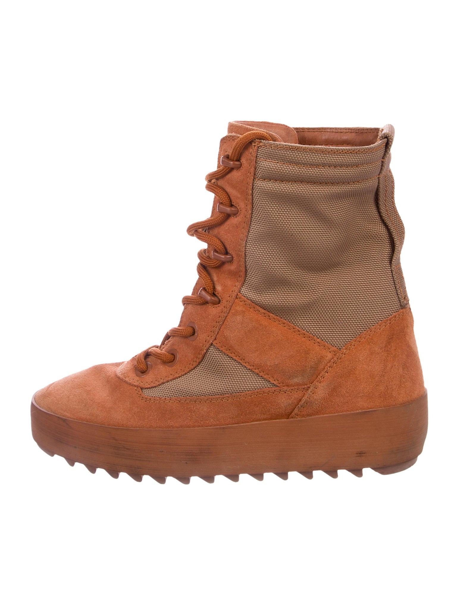 yeezy womens military boot
