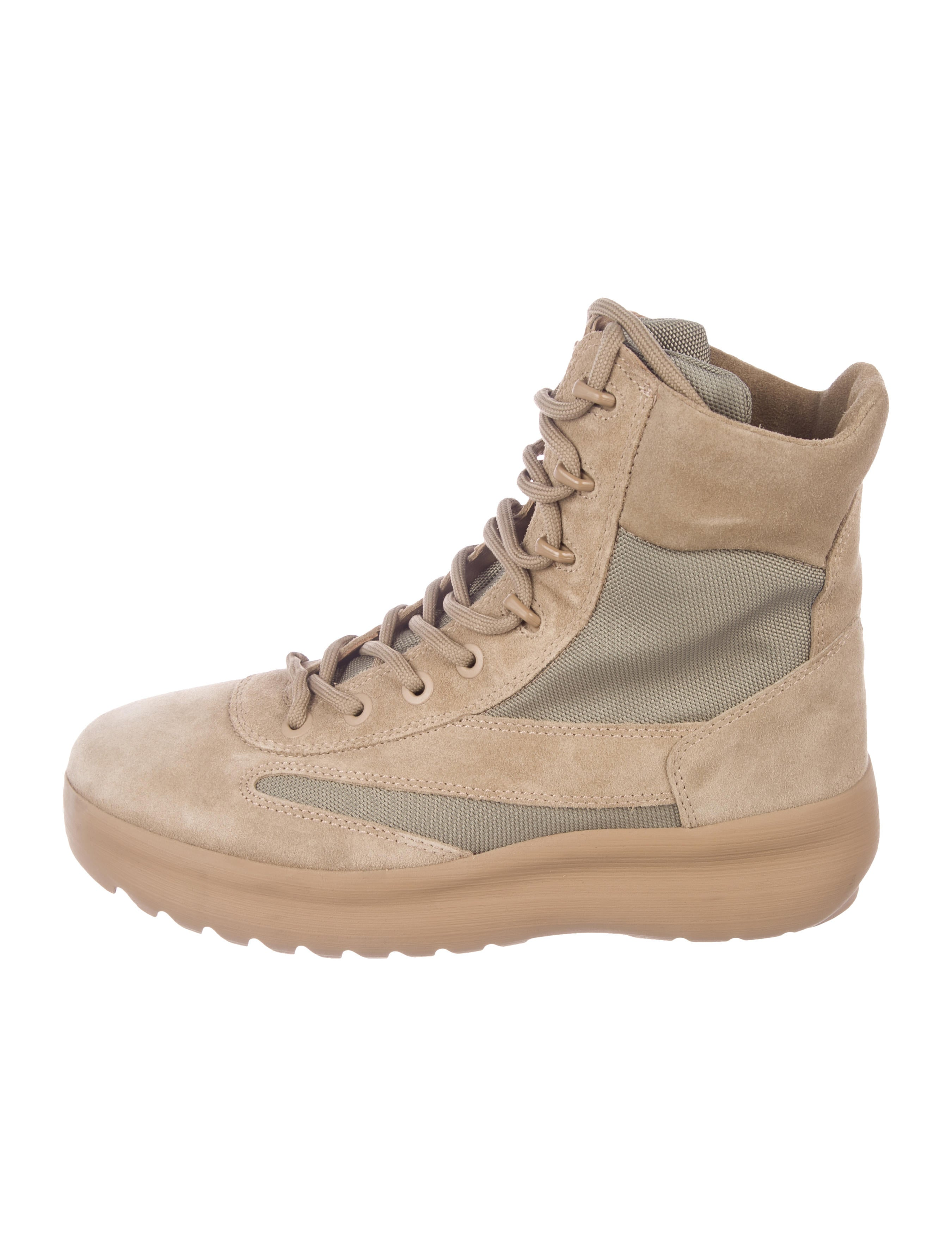 27ad879ea73 Yeezy Season 5 Canvas Taupe Boots - Shoes - WYEEZ22257