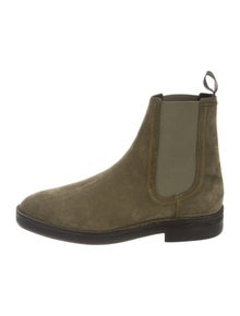 5170b9bb Yeezy. Suede Chelsea Boots ...