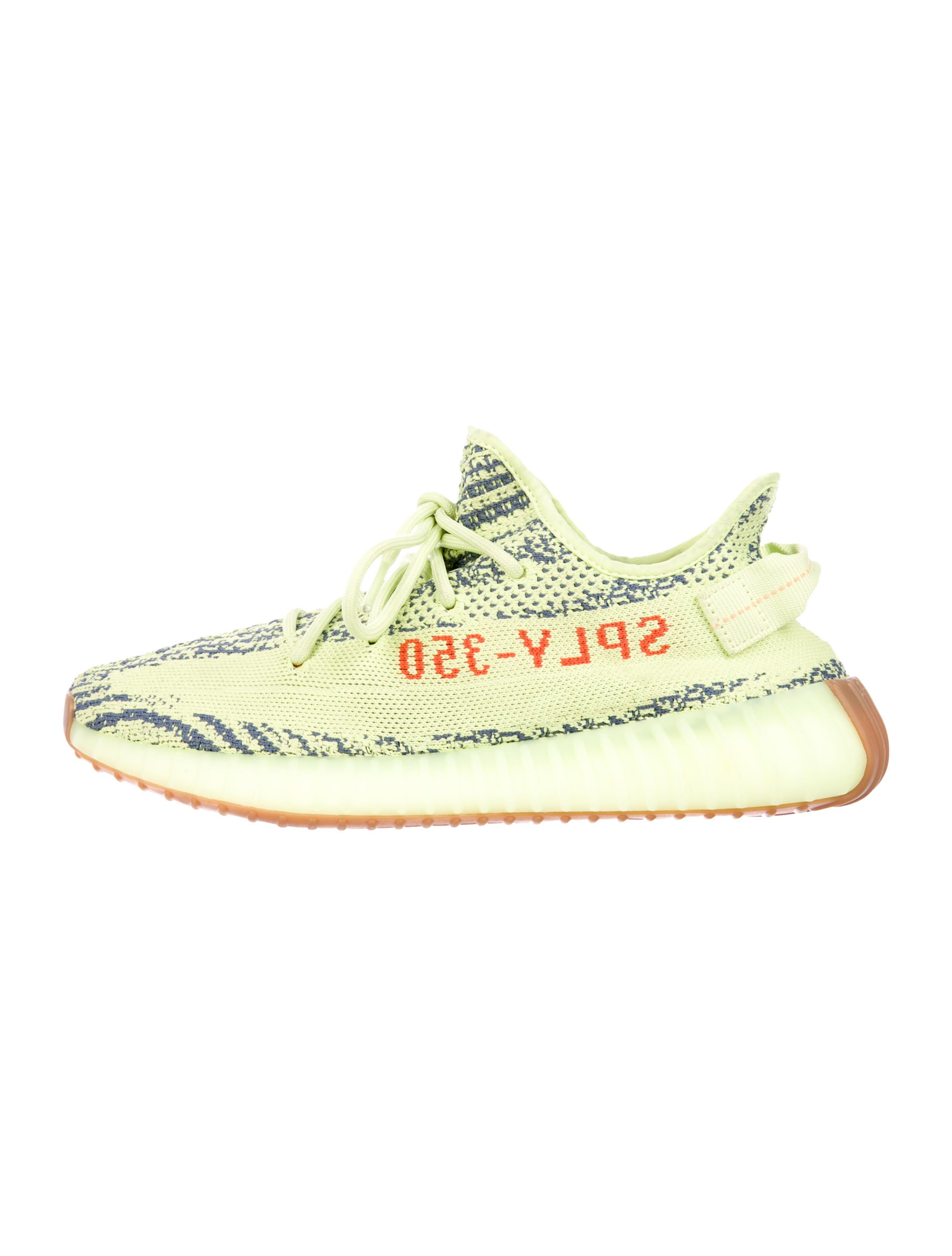 buy popular 0988d d563d 2018 Semi Frozen Yellow Boost 350 V2