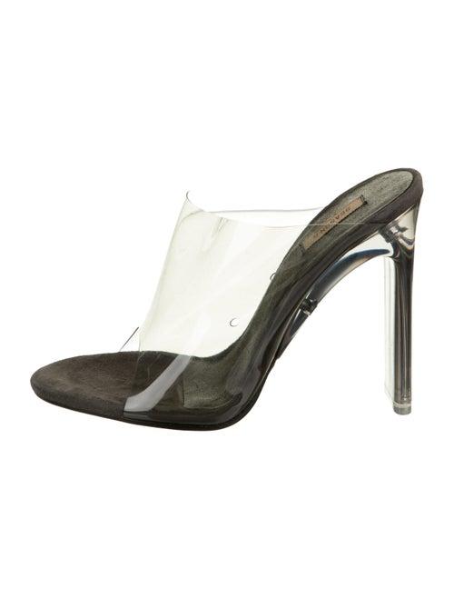 Yeezy Season 6 PVC Sandals Clear