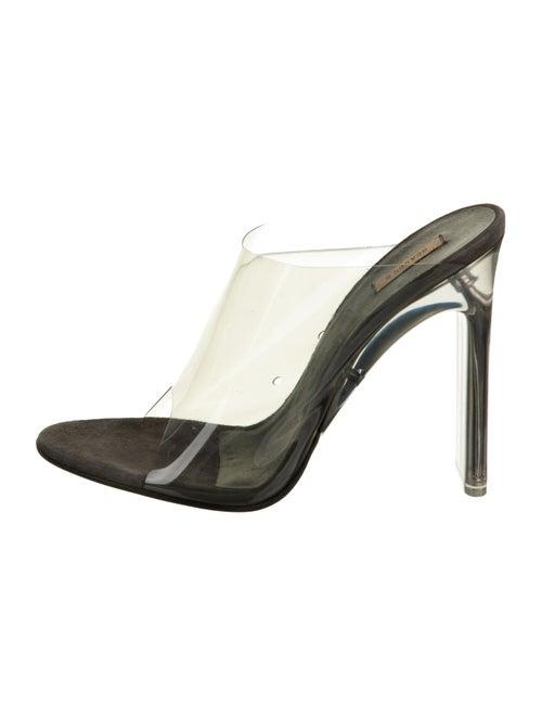 Yeezy PVC Slide Sandals Clear