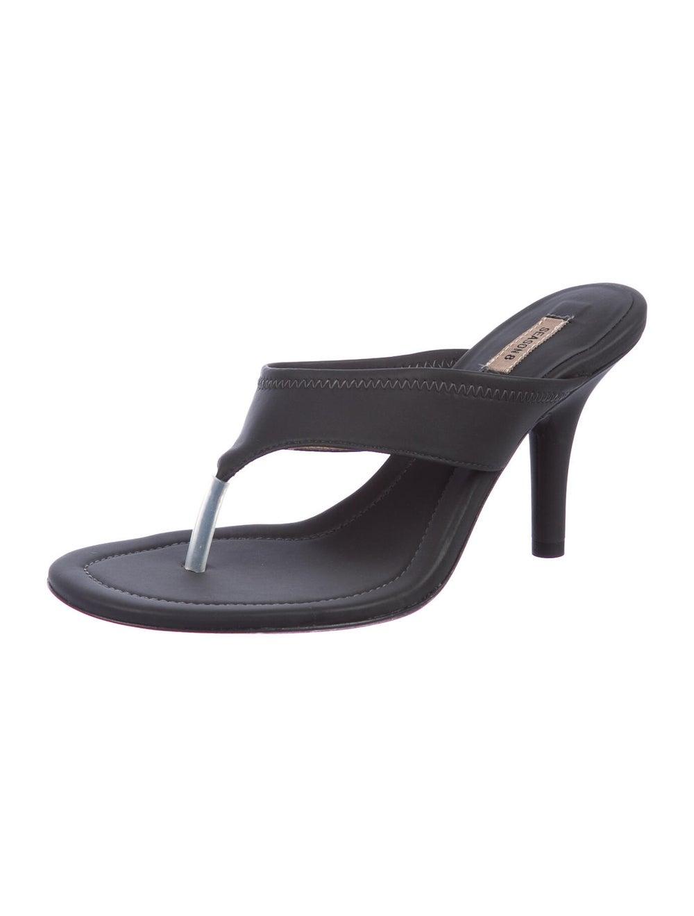 Yeezy T-Strap Sandals Grey - image 2
