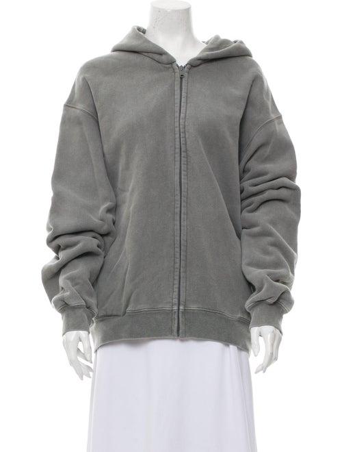 Yeezy Crew Neck Long Sleeve Sweatshirt Grey