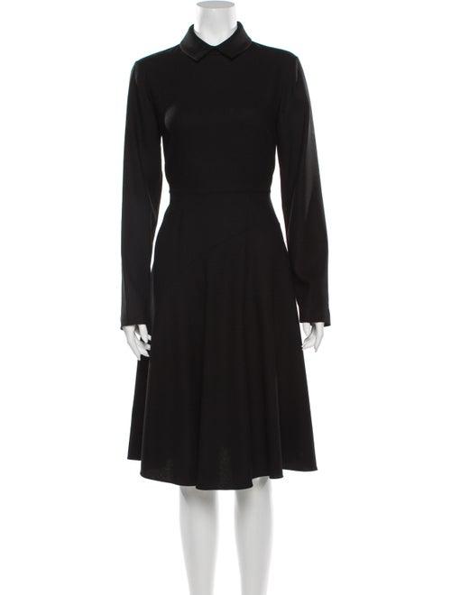 Yeon Wool Midi Length Dress Wool