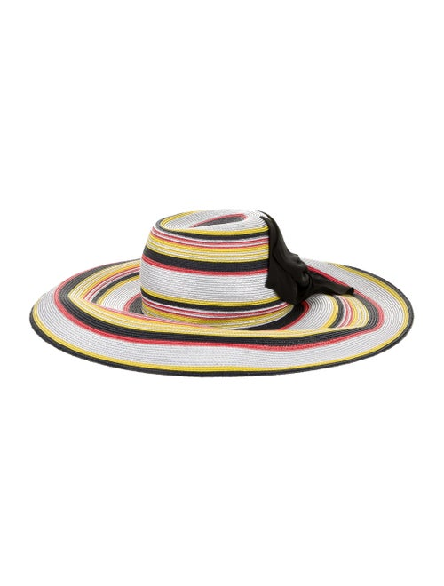 Yestadt Millinery Martinique Straw Hat White