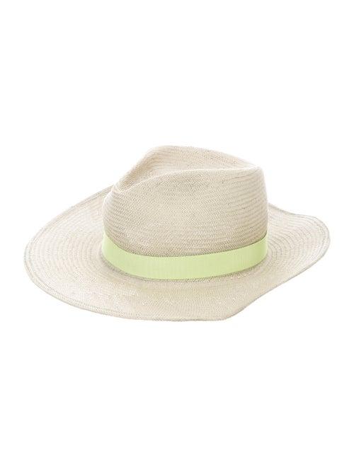 Yestadt Millinery Straw wide-brim Hat - image 1