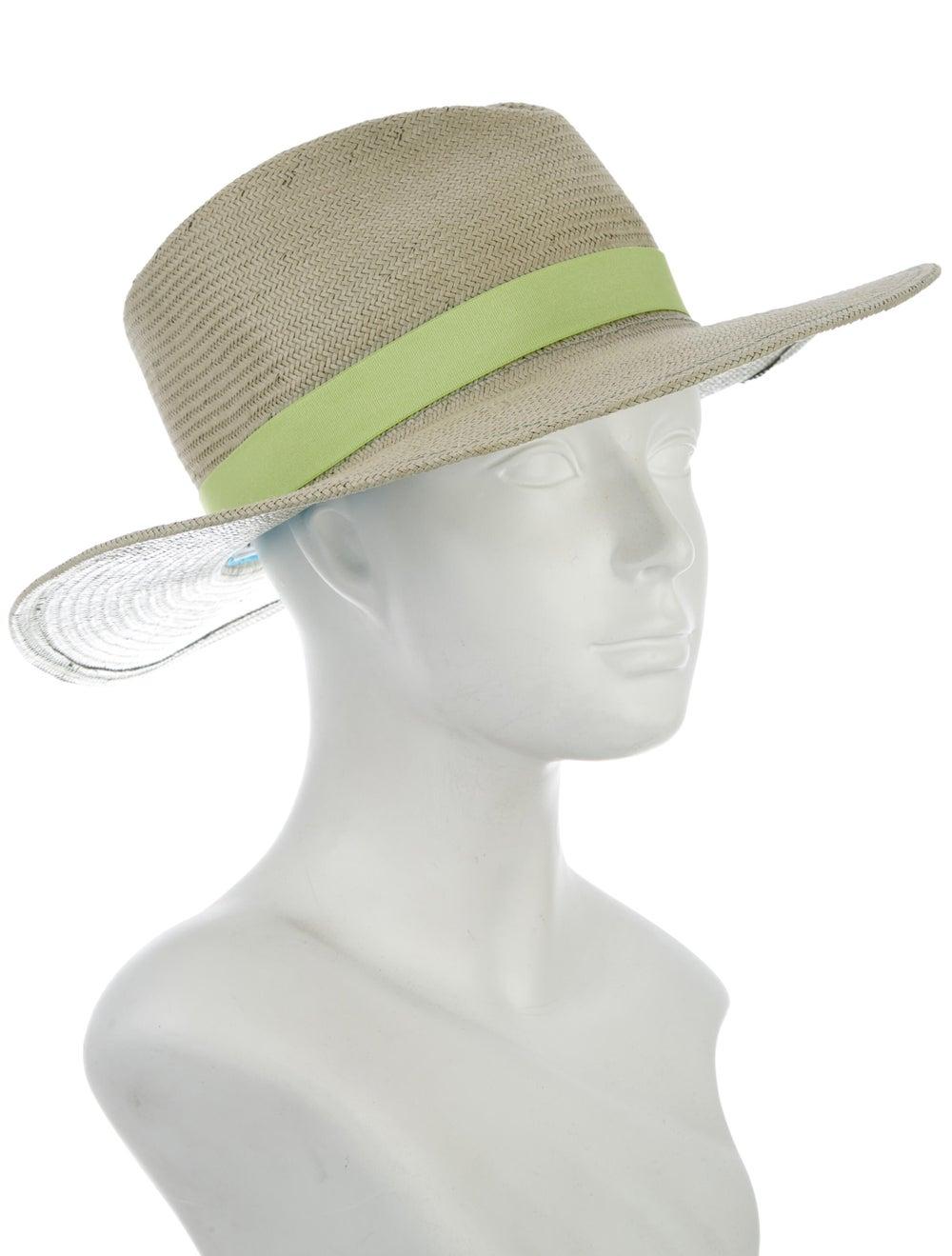 Yestadt Millinery Straw wide-brim Hat - image 3