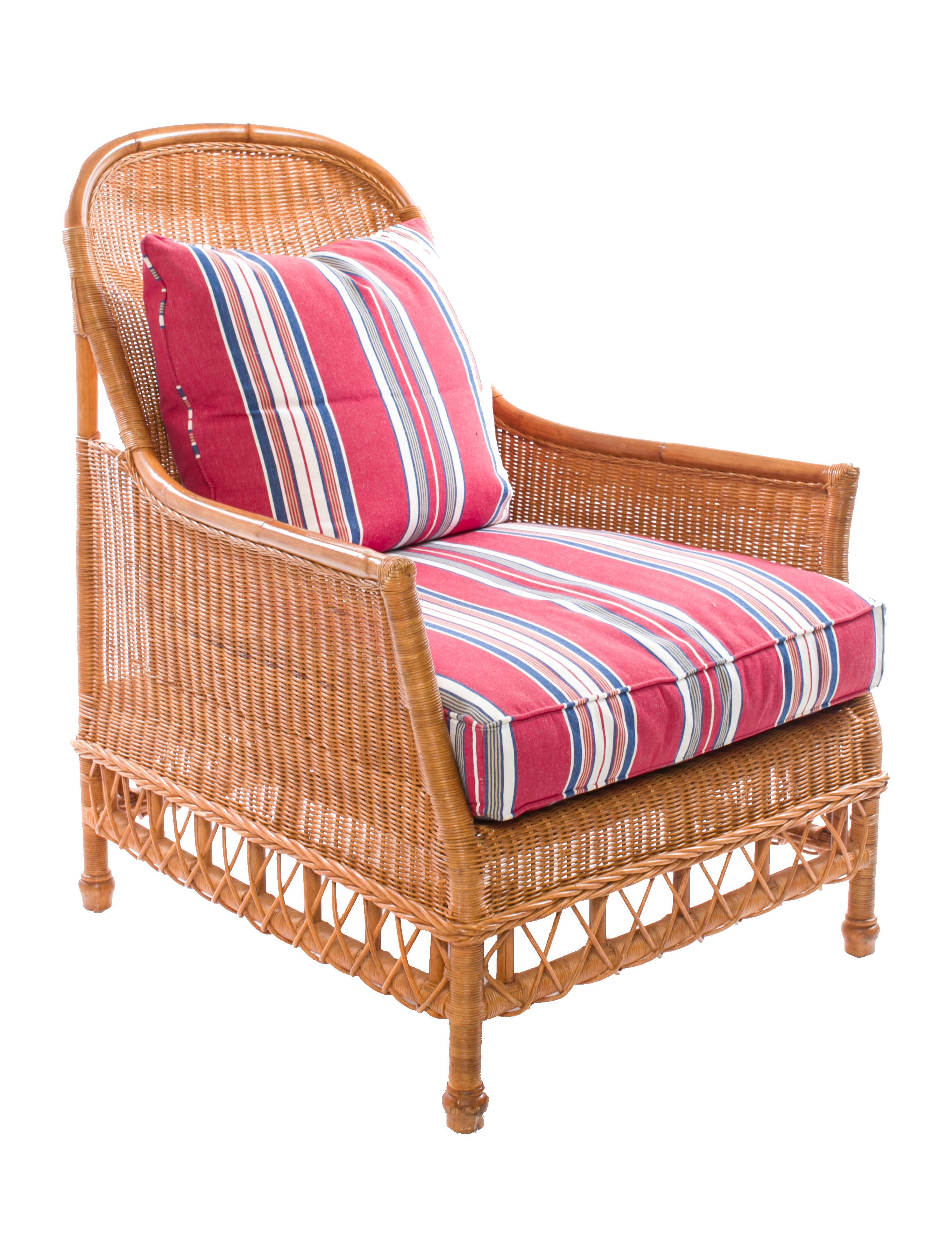 Ralph Lauren American Villa Wicker Chair Furniture Wyg20258 The Realreal