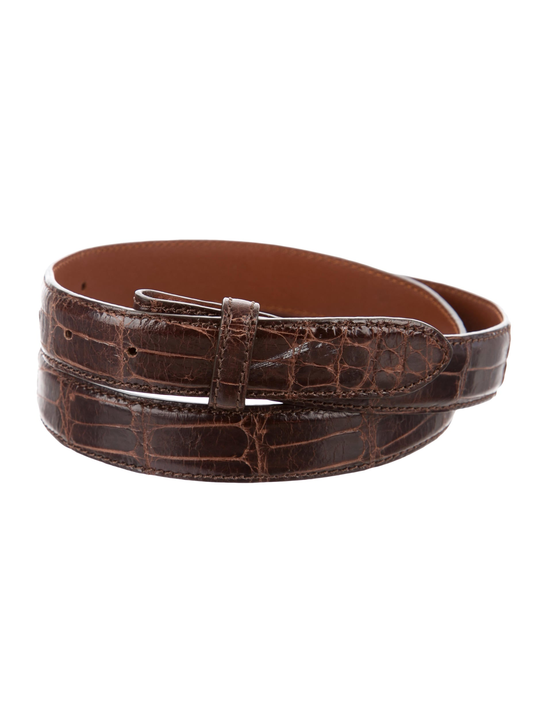 ralph lauren alligator belt strap accessories wyg21095. Black Bedroom Furniture Sets. Home Design Ideas