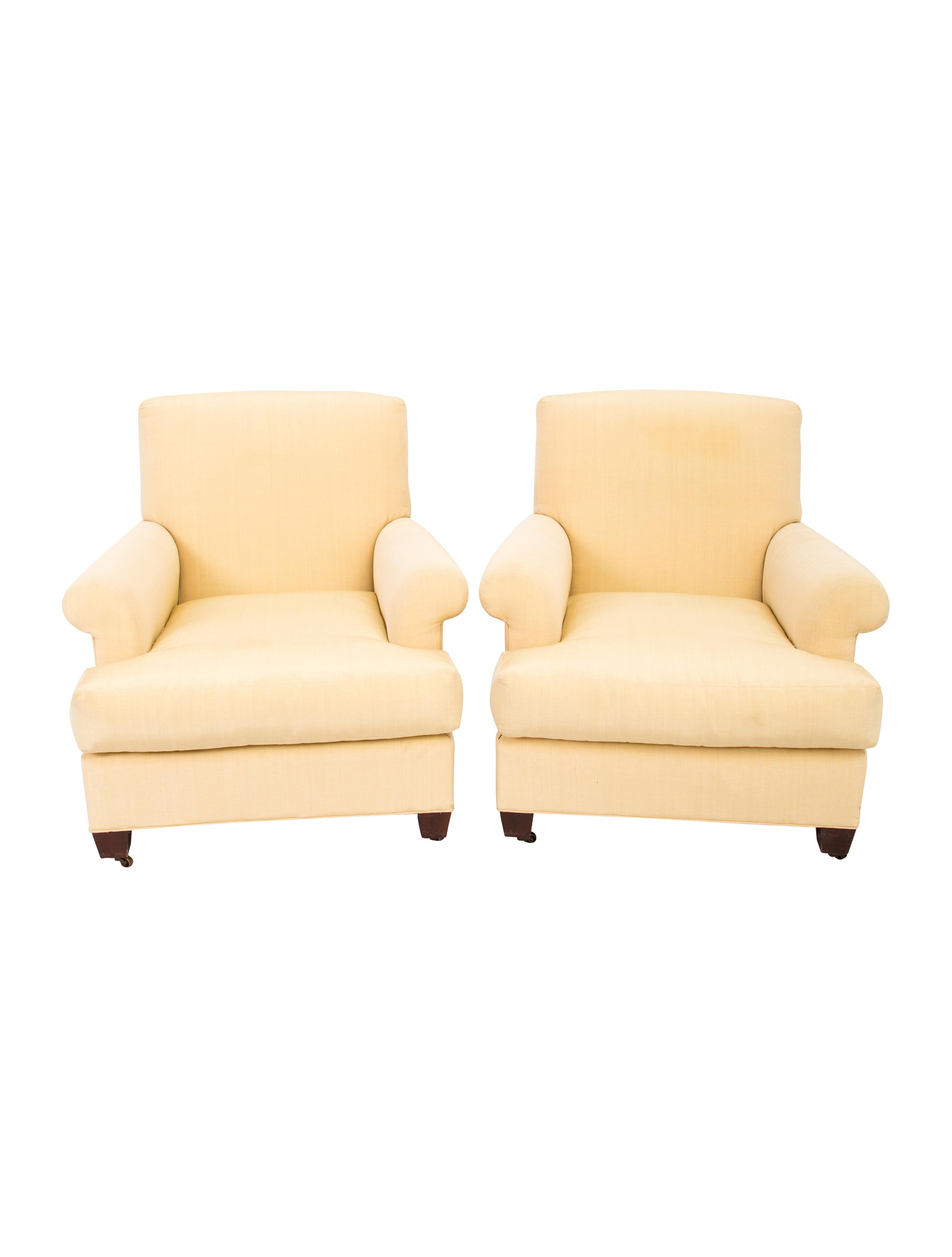 Ralph lauren pair of club chairs furniture wyg21480 for Ralph lauren outdoor furniture