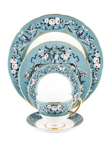 Ralph Lauren 60-Piece Annalia Dinner Service None