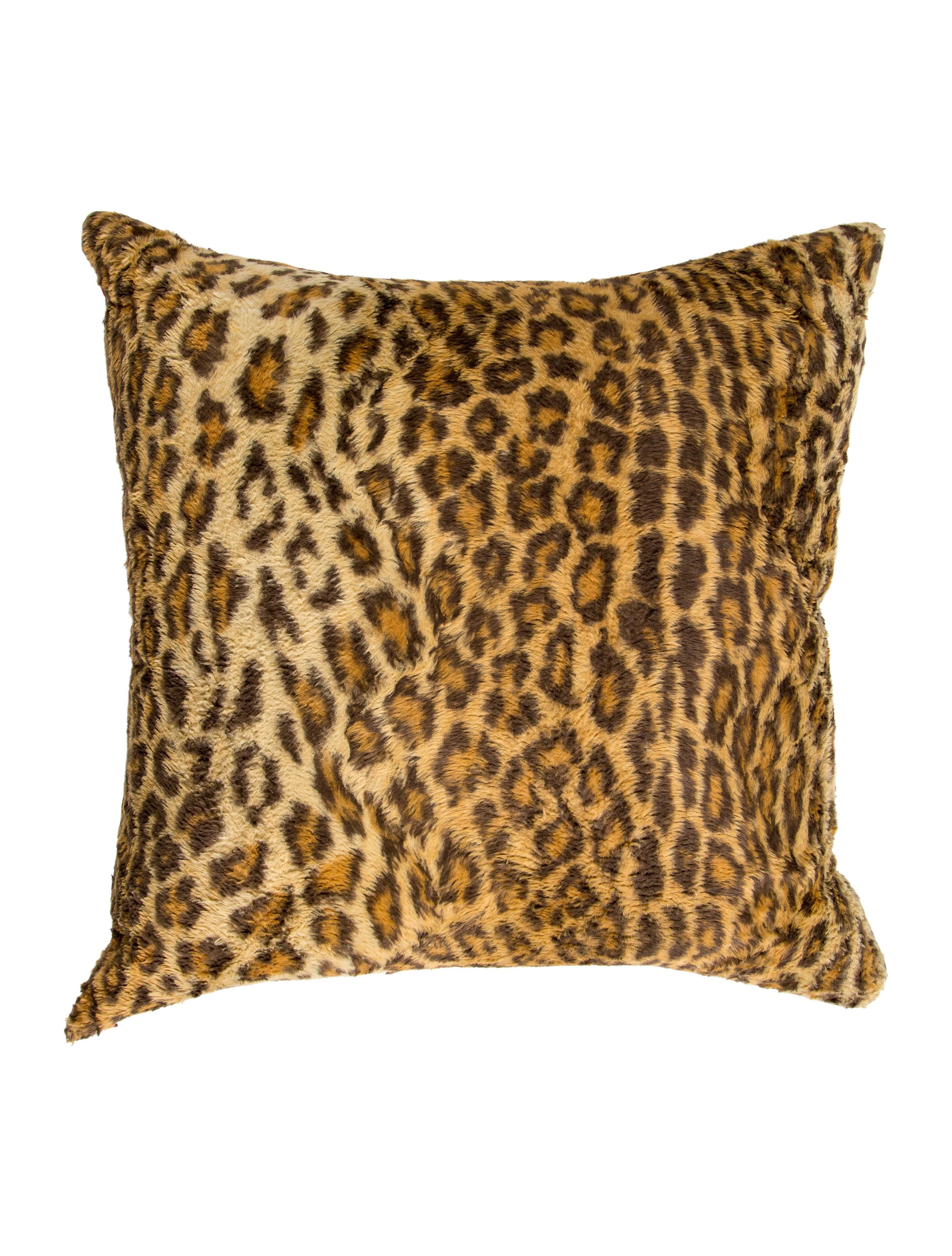Ralph Lauren Aragon Leopard Throw Pillow - Bedding And Bath ...