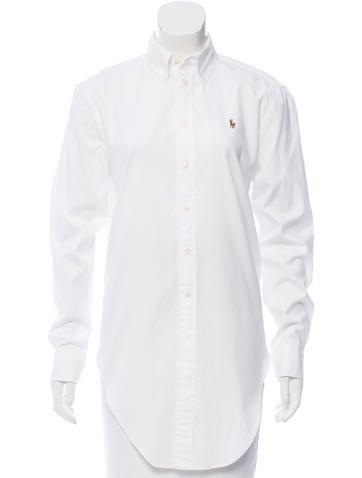 Ralph Lauren Long Sleeve Button-Up Top None