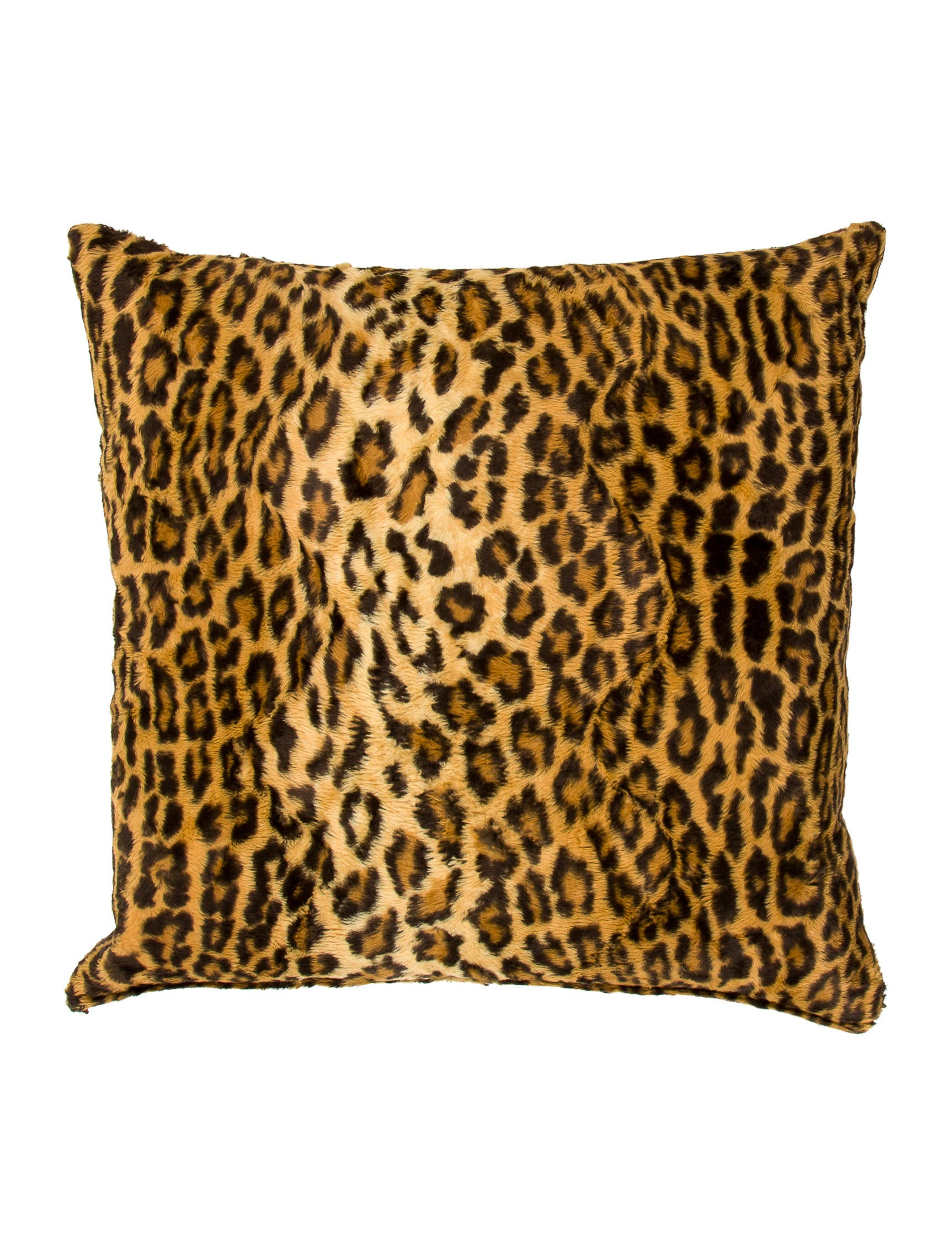 furs by snow products faux fur leopard pillow fabulous pillows