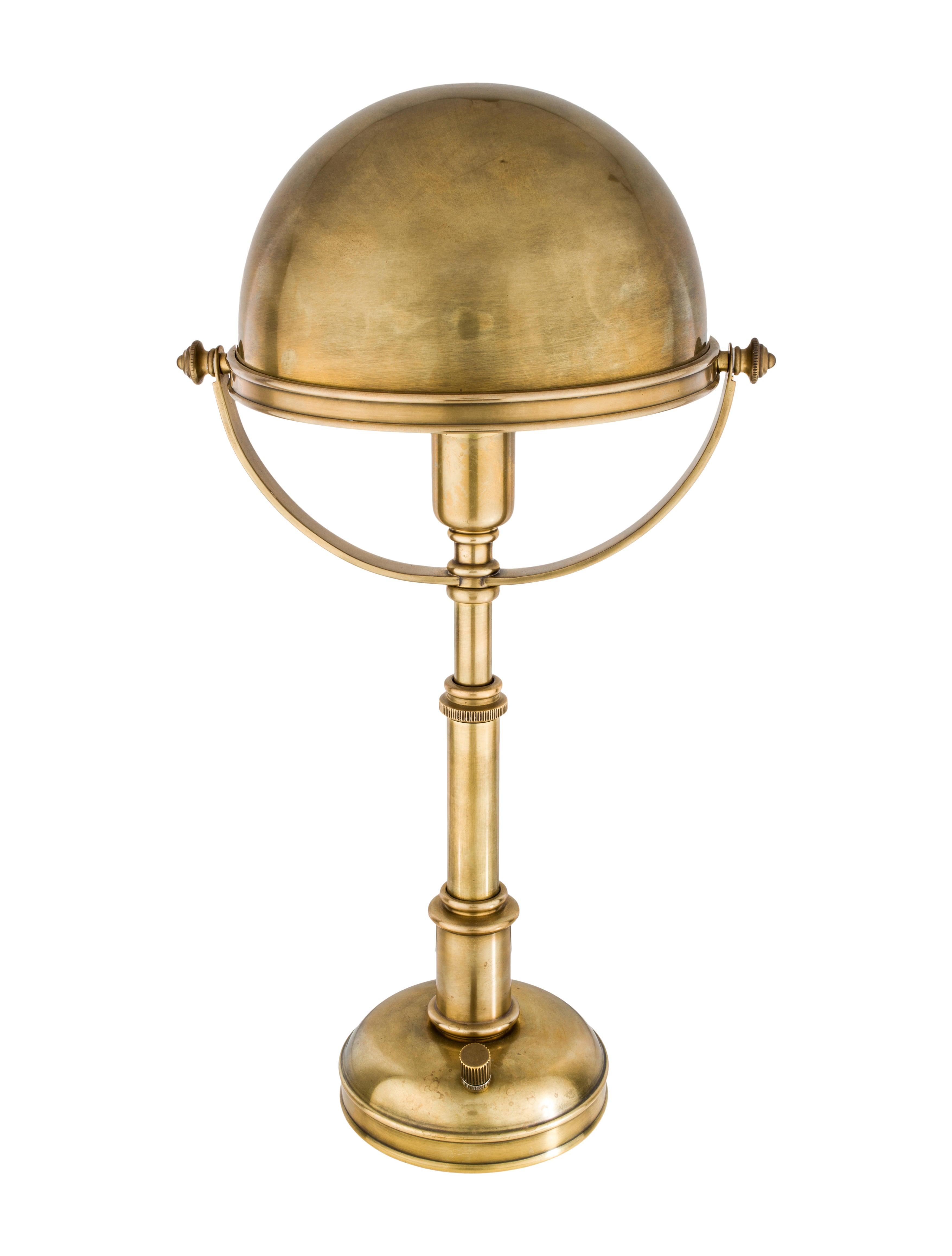 Ralph Lauren Brass Lamps Lamp Design Ideas