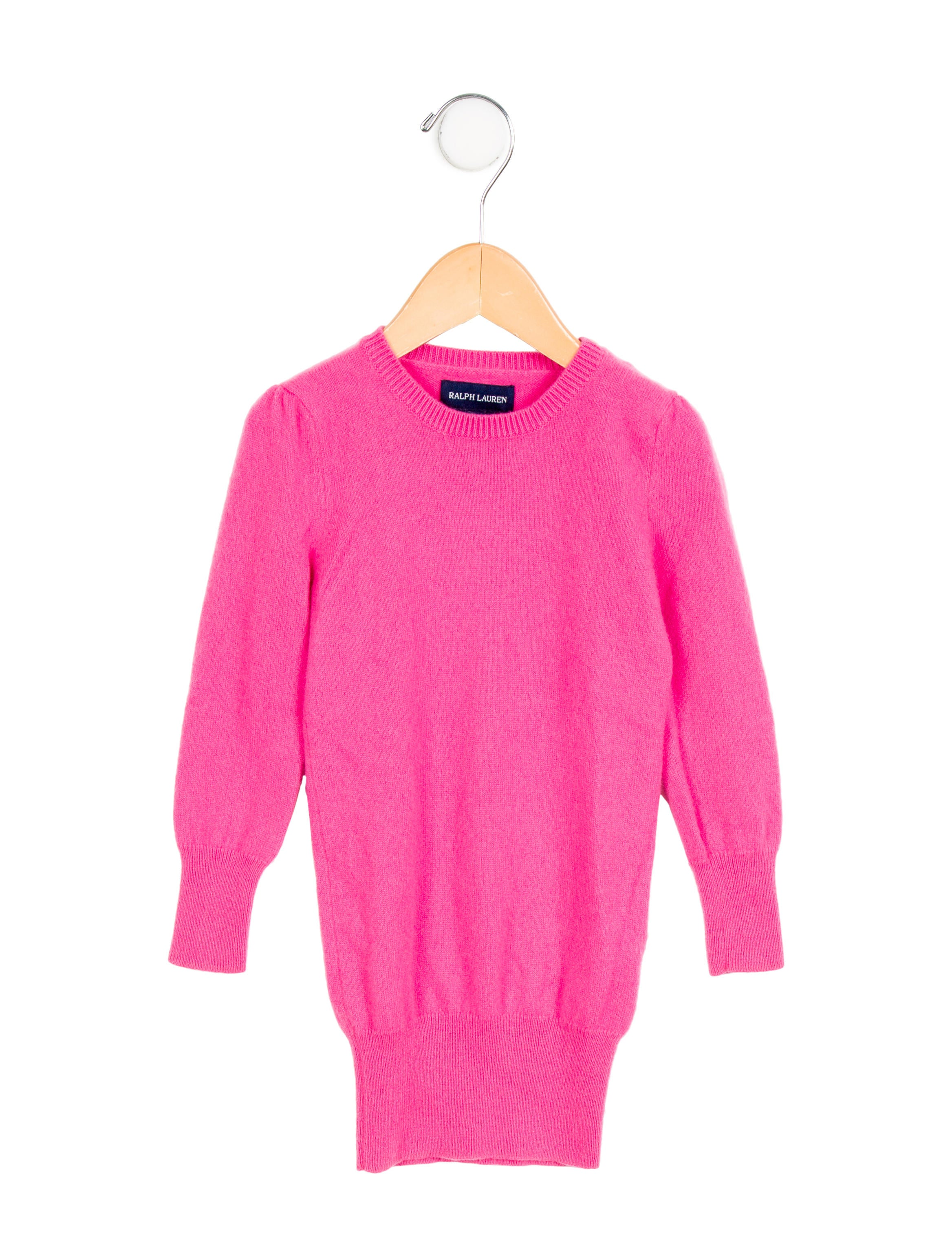 aacdbca7b Ralph Lauren Girls  Cashmere Sweater Dress - Girls - WYG22195