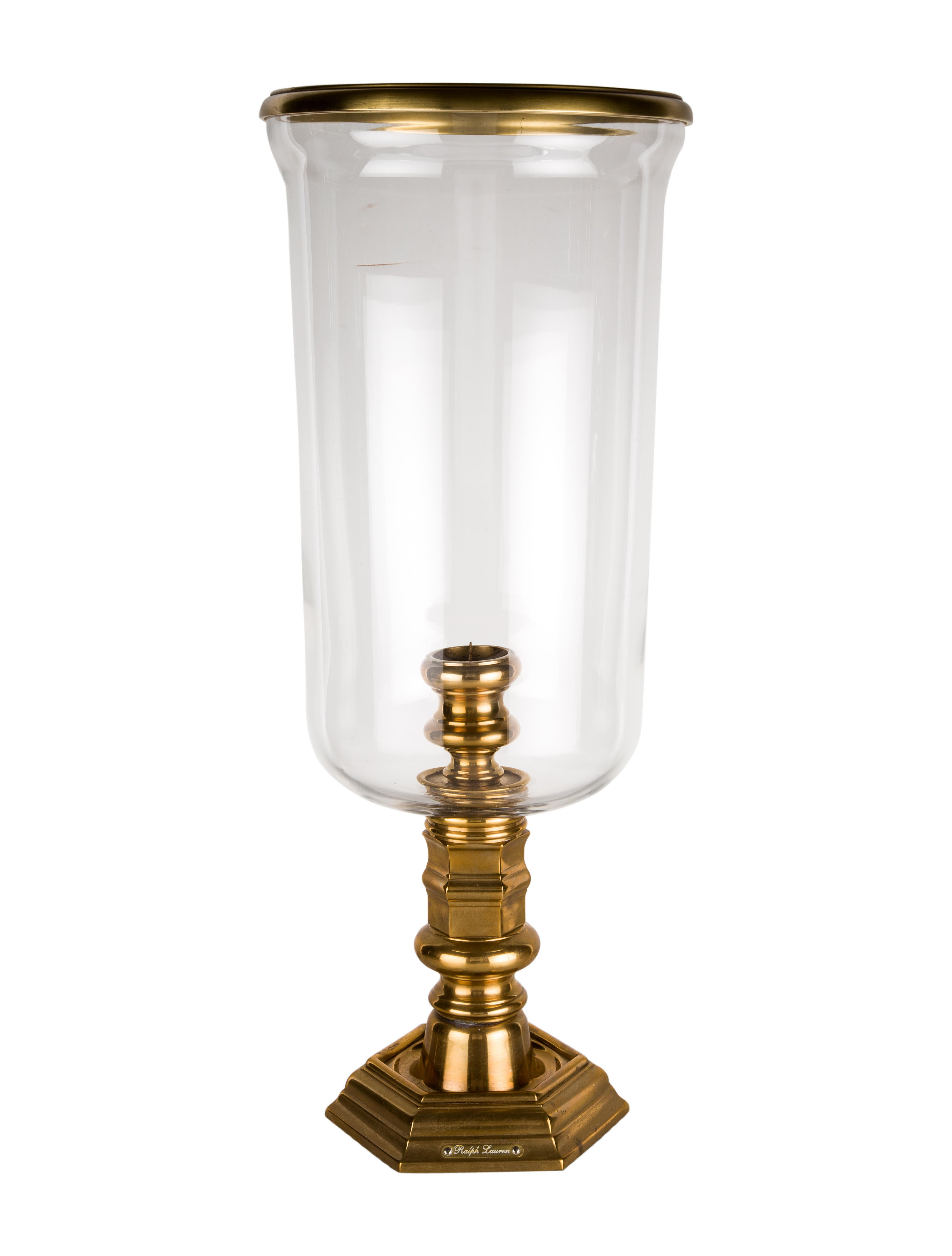 Ralph Lauren Glass Hurricane - Decor And Accessories ...
