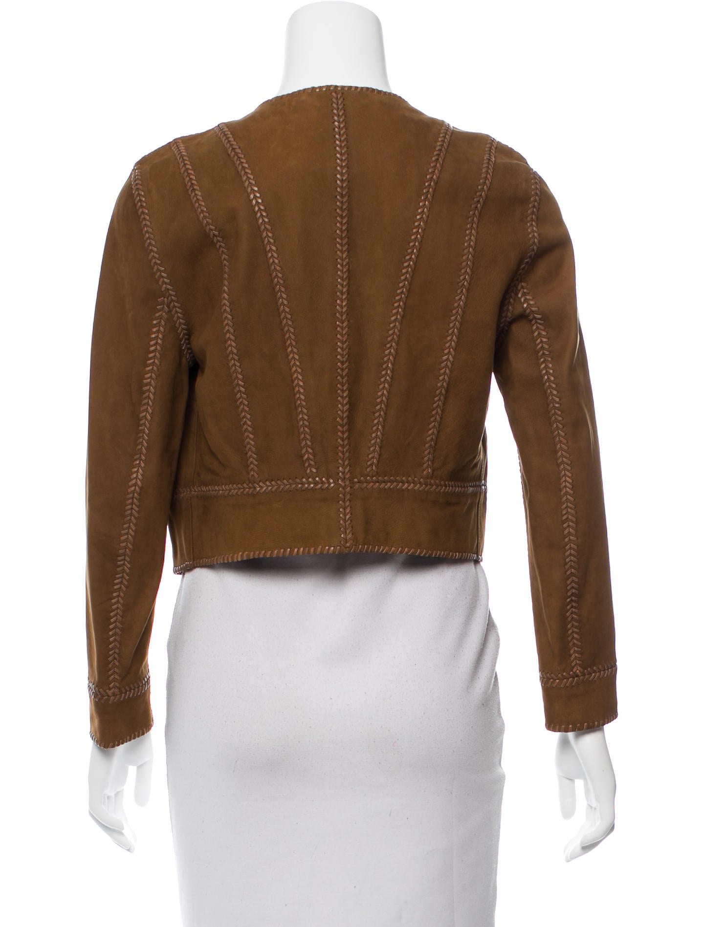 Suede Jacket Outfits For Men 20 Ways To Wear A Suede Jacket: Ralph Lauren Cropped Suede Jacket