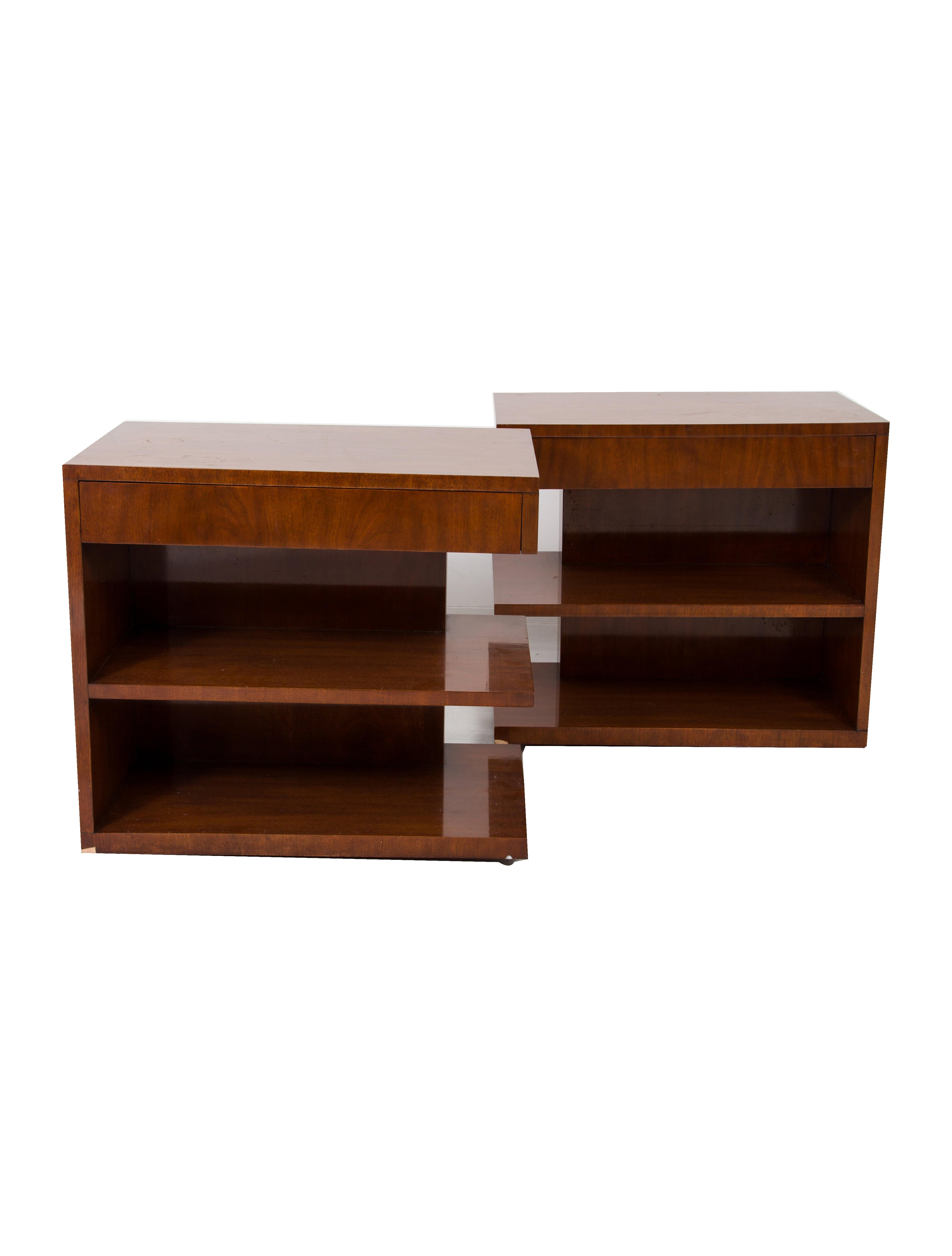 Ralph lauren modern hollywood night stands furniture for Ralph lauren office furniture