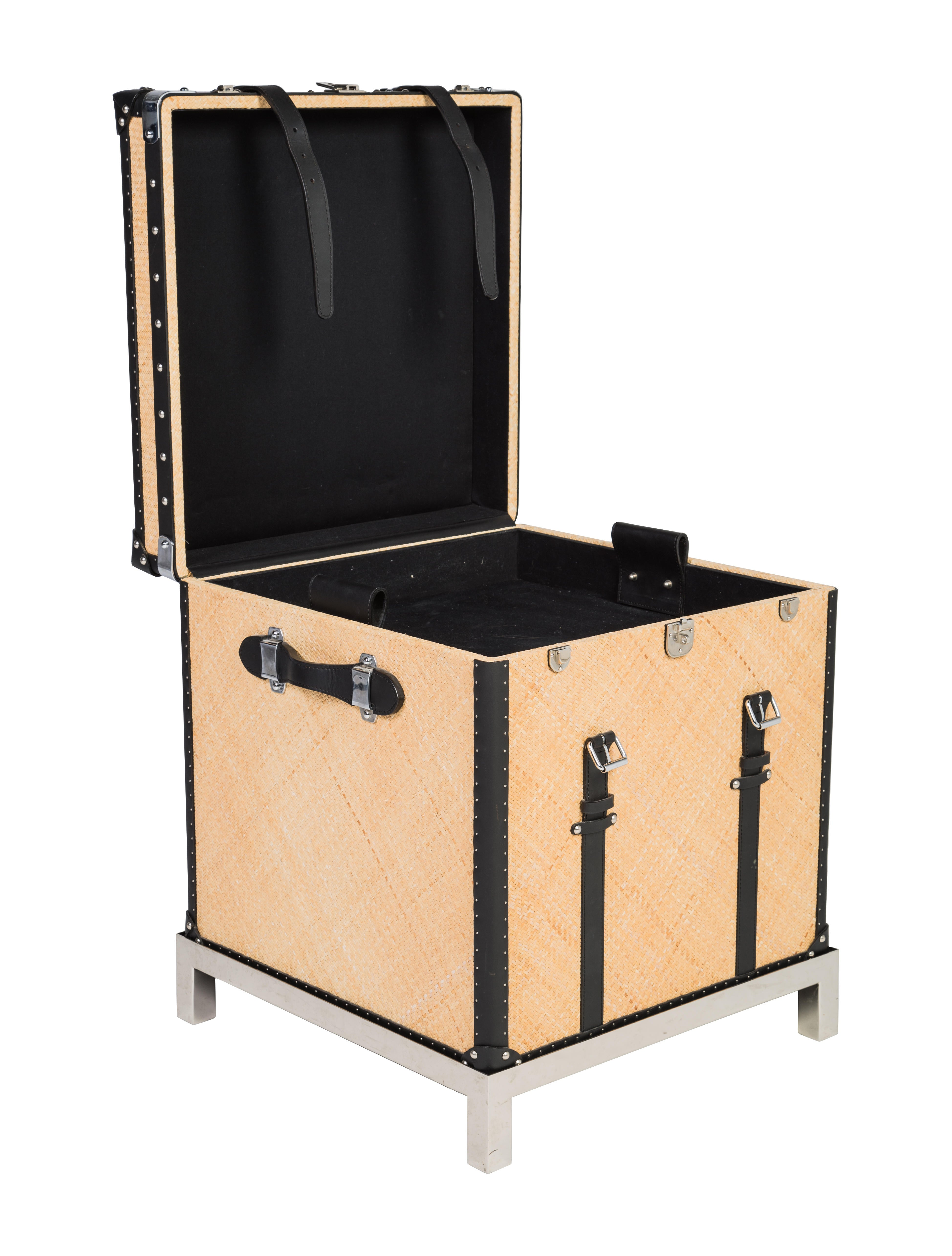 Ralph lauren mayfair trunk on stand furniture wyg22755 for Ralph lauren office furniture