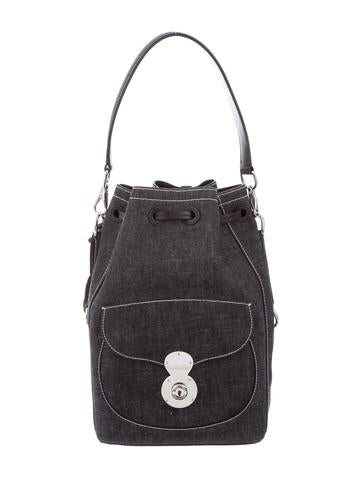 Ralph Lauren Denim Ricky Drawstring Bag None