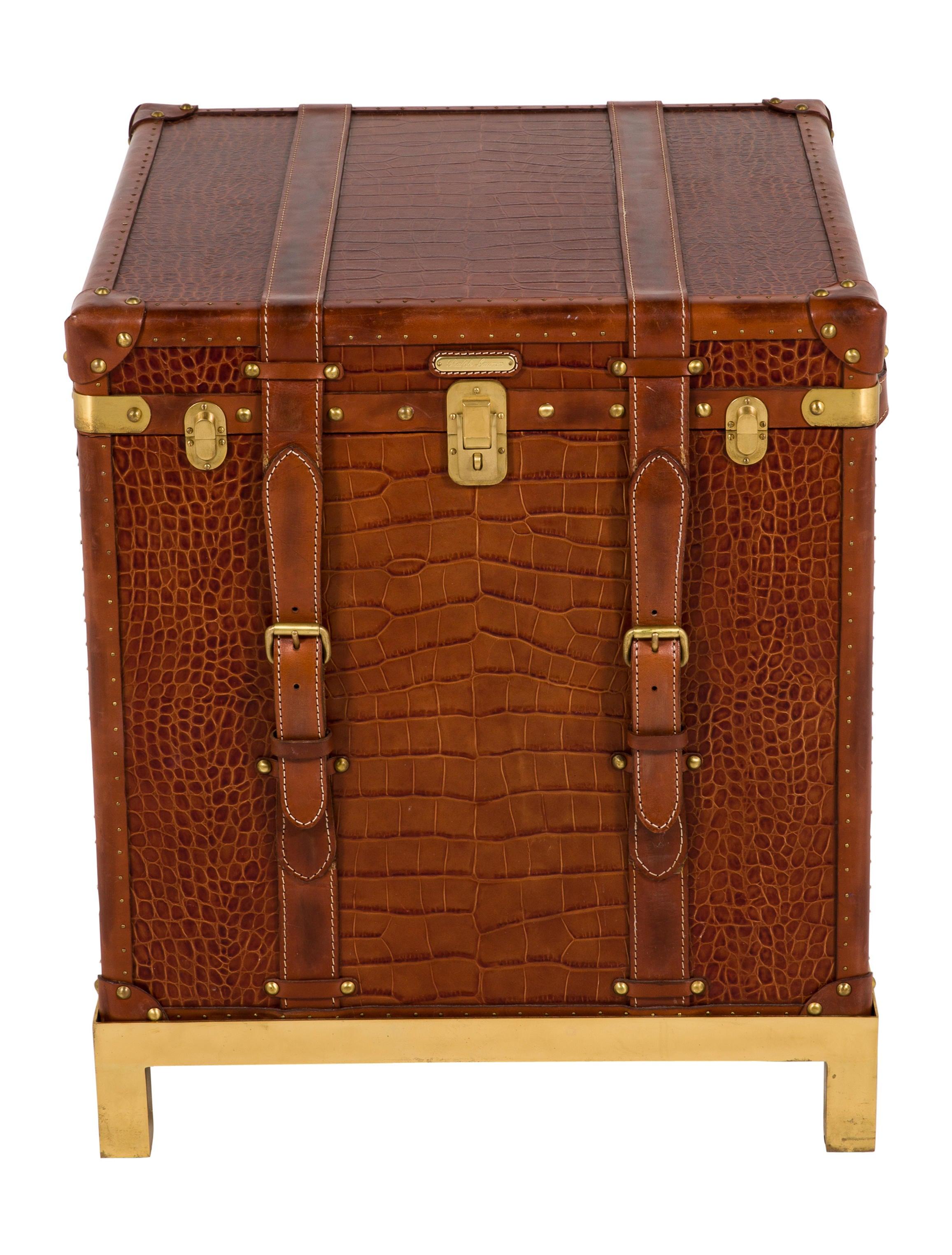 Ralph lauren safari end table furniture wyg22860 the for Ralph lauren outdoor furniture