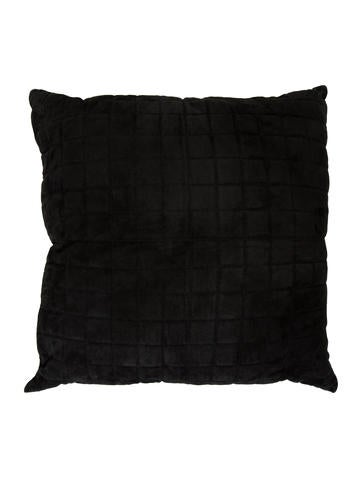 Ralph Lauren Leather Quilted Throw Pillow None