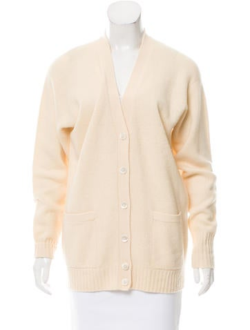 Ralph Lauren Wool Rib Knit Cardigan None