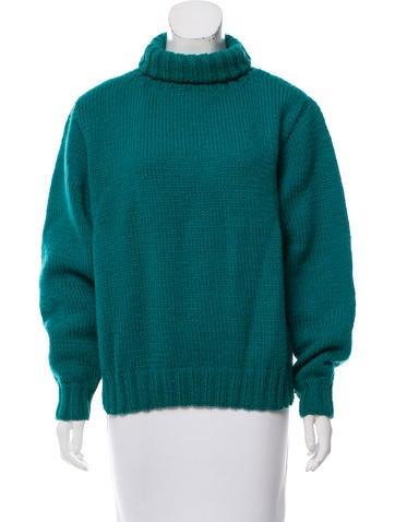 Ralph Lauren Wool Turtleneck Sweater None