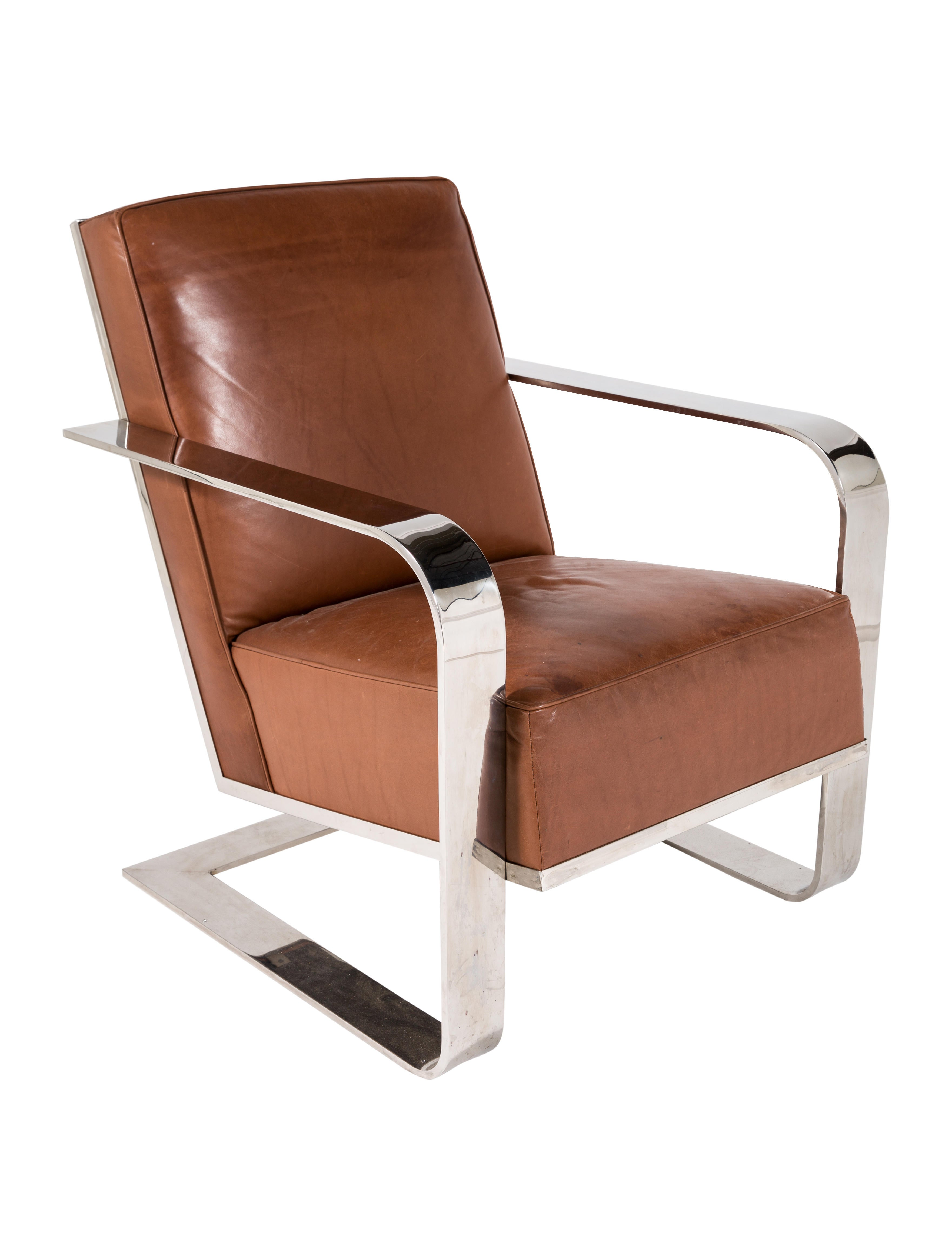 Ralph Lauren New Bohemian Metal Club Chair Furniture